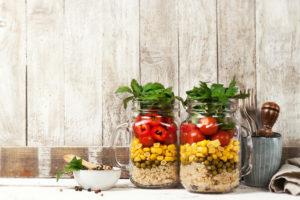 zdrowa sałatka jedzenie fit